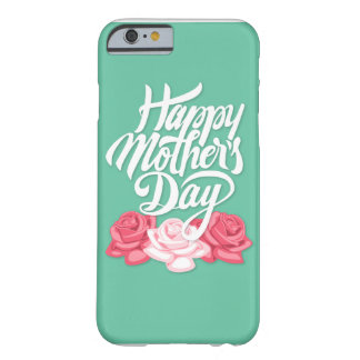 rose typography mother day barely there iPhone 6 case