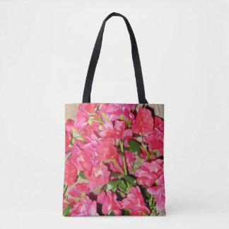 Rose Vine Tote Bag