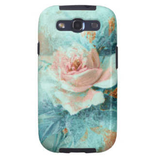 Rose vintage mothers love PERSONALIZE Samsung Galaxy S3 Case