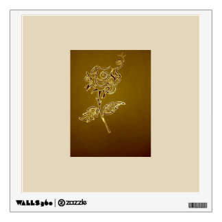 Rose Wall Poster Wall Decal