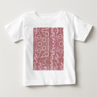 Rose White Abstract Baby T-Shirt