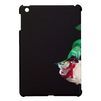 Rose white blood red side cover for the iPad mini