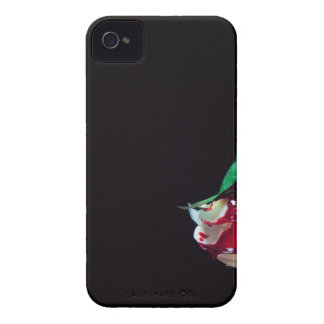 Rose white blood red side iPhone 4 Case-Mate case
