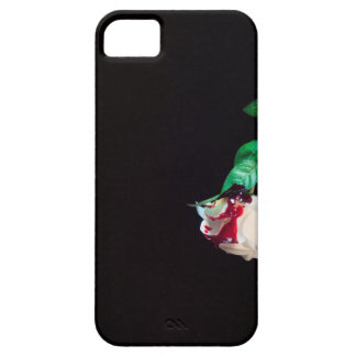 Rose white blood red side iPhone 5 covers