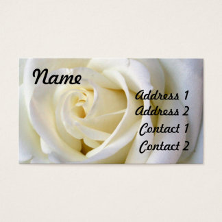 Rose White, Profile Card