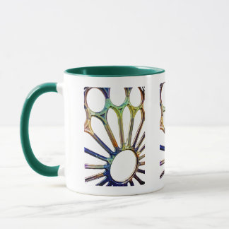 Rose window at the Sagrada Familia Mug