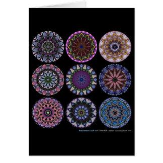 Rose Window Quilt #1 Card