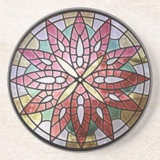 Rose Window Sandstone Coaster