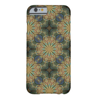 Rose Window Yellow Abstract Stained Glass Barely There iPhone 6 Case