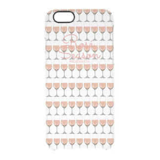 Rosé Wine Glass Phone Case