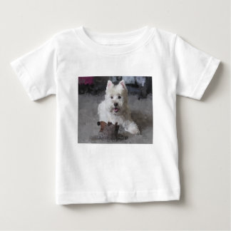 Rose With A New Toy Baby T-Shirt
