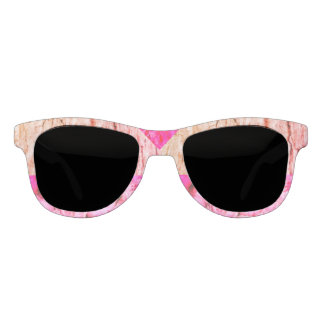 Rose Woods and Pink Peonies Statement Sunglasses