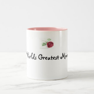 rose, Worlds Greatest Mimi Two-Tone Coffee Mug