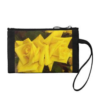 Rose wristlet purse