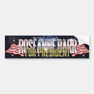 RoseAnne Barr for President Bumper Sticker