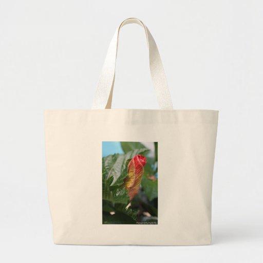 Rosebud Canvas Bags