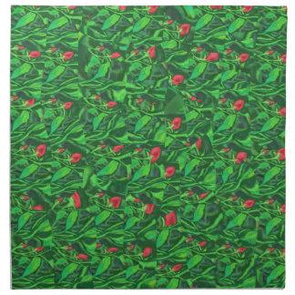 Rosebud. Cloth Napkins