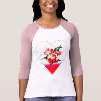 Rosebud heart T-Shirt