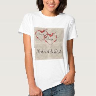 Rosebud Hearts Tshirts