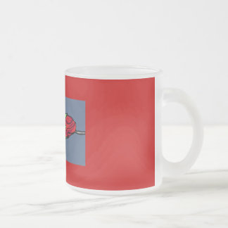 Rosebud in Window Coffee Mug