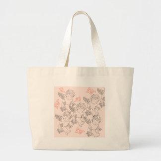 Rosebud Large Tote Bag