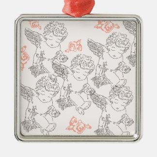 Rosebud Metal Ornament