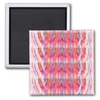 Rosebud Petals Energy Square Magnet