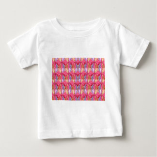 Rosebud Rose Petal Art Spectrum Tee Shirt