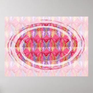 RoseBud Spectrum  - Rose Petal Art Poster