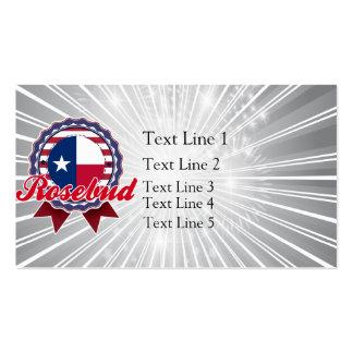 Rosebud, TX Business Cards