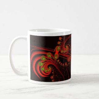 Rosebuds Abstract Fractal Design Mug