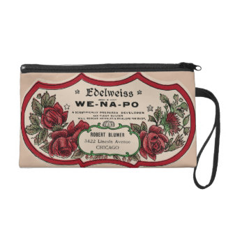 Rosebuds Wristlet