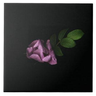 Rosebuds Ceramic Tile