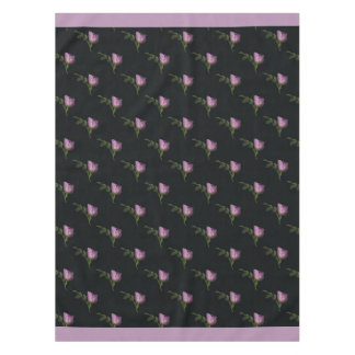 "Rosebuds Cotton Tablecloth, 52""x70"" Tablecloth"