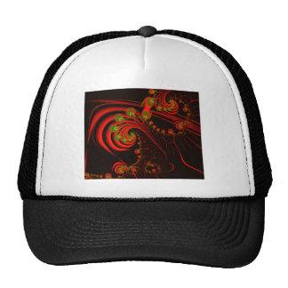 Rosebuds Fractal Design Hat