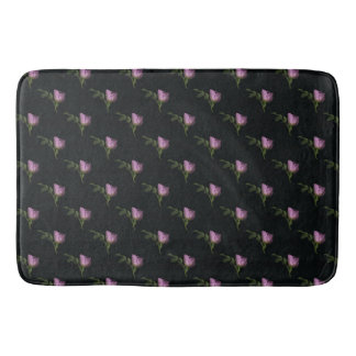 Rosebuds Large Bath Mat