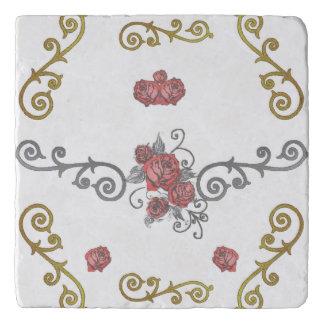 Rosebuds Trivet