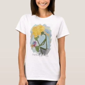 Rosegifts Thinker Rose T-Shirt