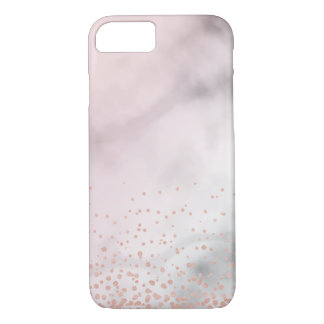 RoseGold Marble Case