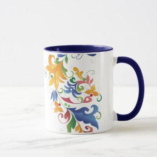 Rosemaling Mug