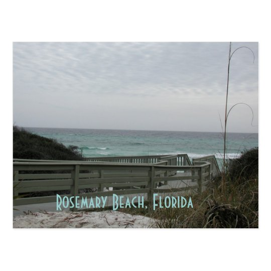Rosemary Beach Boardwalk Postcard