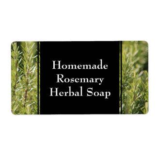 Rosemary Herbal Garden Herb Custom Label Shipping Label