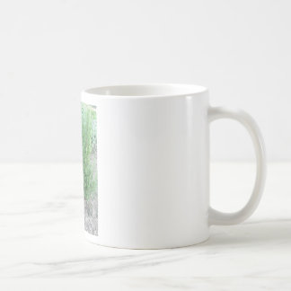Rosemary plant in the garden . Tuscany, Italy Coffee Mug