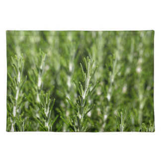 Rosemary (Rosmarinus officinalis) branches Place Mat