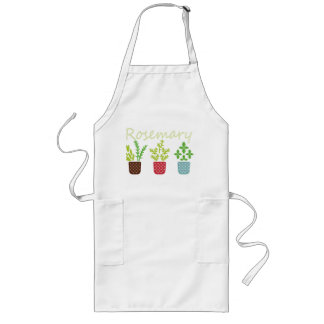 Rosemary, Sage and Thyme Long Apron