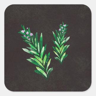 Rosemary Square Sticker