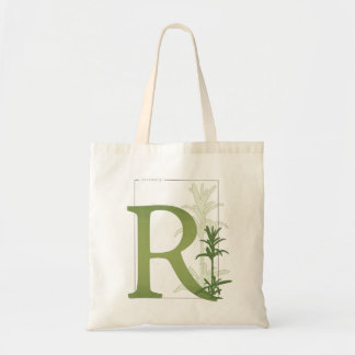 Rosemary Typographic Bag