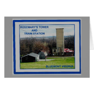 ROSEMARY'S TOWER  & TRAIN STATION 2 CARD