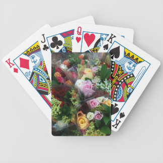 Roses 2 bicycle playing cards