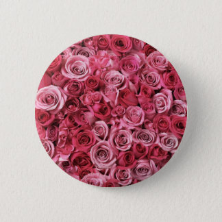 Roses 2 Inch Round Button